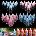 30 Fillable Bottles for Baby Shower Favors Blue Pink Party Decorations Girl Boy