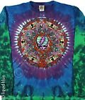 GRATEFUL DEAD-CELTIC MANDALA-TIE DYE LONG SLEEVE-2 SIDED SHIRT M-L-XL-XXL Garcia