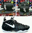 Matching New Era Chicago White Sox Fitted hat for Nike Foamposite Dr. Doom