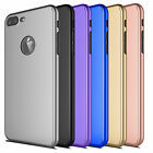 360° Full Body Protector Case Cover +Tempered Glass For Apple iPhone 7 / 7 Plus