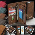 Leather Removable Wallet Flip Card Case Cover for iPhone 7 Samsung Galaxy S7