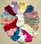 BABY GIRLS SPANISH STYLE DOUBLE BOW SOCKS 3/4 TO KNEE HIGH 0 3 6 12 1 2 3 4 5 6