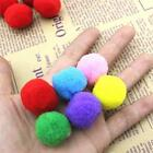 DIY 50pc Furball Small Pompom Balls Clothing Toy Accessory Kids Homemade Craft G