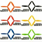 "1 Pair 6x4.5"" 6045 3-blade CW CCW left & right Propeller Multi-Copter 6 Colors"