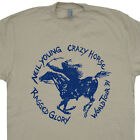 Neil Young Ragged Glory T SHIRT Tour Rock Concert Harvest Moon vintage retro TEE