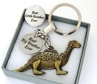 Keyring - Dinosaur- Best Big Brother or Best Little Brother ..christmas,Birthday