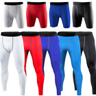 Mens compression Base layer long pants legging running under tight GYM Trousers