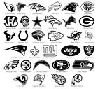 NFL Vinyl Decal Sticker Car Window Wall Art National Football League Sport Logos on eBay