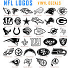 NFL Vinyl Decal Sticker Car Window Wall Art National Football League Sport Logos $7.49 USD