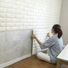 3D Flexible Stone Brick Wall Viny Wallpaper Self-adhesive Tool Home X-mas BY