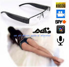 Full HD 1080P Spy Glasses Hidden Camera DVR Voice Recorder Eyewear Surveillance