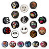 Acrylic Flesh 2 Part Plug Stretched Ear Lobe Skull Star Wars Anchor 3mm - 30mm