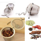 Useful Tea Spice Strainer Metal Filter Ball Kitchen Kits Mesh Filter Durable 1pc
