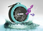 Waterproof Bluetooth Suction Mic Speaker Shower Car For Iphone Samsung PC HTC LG