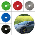 8m Car Tuning Alloy Wheel Rim Protector Tire Guard Rubber Moulding Edge Ring New