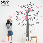 Koala Bear Large Tree Birds Vinyl Wall Sticker Decal Nursery Kids Baby Bedroom