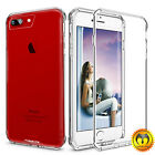 For Apple iPhone 7 & 7 Plus Clear Hard PC+TPU Thin Luxury Shockproof Case Cover
