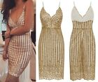 SEXY CELEB SWEETHEART SPARKLE GLITTER WHITE GOLD VICTORIAN BODYCON DRESS 6-16