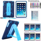Heavy Duty 2 In 1 Robot Hybrid Case Cover Stand For Apple Ipad Mini 2/ipad 5 Air