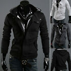 Kyпить Men's Winter Slim Hoodie Warm Hooded Sweatshirt Coat Jacket Outwear Sweater tops на еВаy.соm