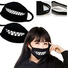 Masks Cotton Teeth Luminous Mouth face Mask Anime Mist/Dust Prevent Halloween