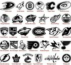 NHL logos Vinyl Decal Stickers Car Window Wall National Hockey League Sport Art $9.49 USD on eBay