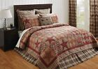 3-pc DAWSON STAR QUILT SET TWIN QUEEN CAL KING *CHOOSE SIZE* PRICE MATCH PLUS