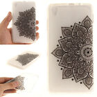 Patterned Soft Rubber Silicone TPU Gel Back Case Cover For Lenovo