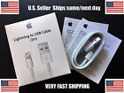 Original 2M-6Ft OEM Apple Lightning USB Cable Charger Cord iPhone 7 6 6s