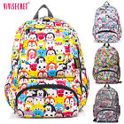 Boys Girls Waterproof Cartoon Tsum 13inch latop Backpack School Bags Rucksack