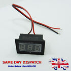 Two Wire DC Digital Voltmeter V40D DC2.7-30V Waterproof Polarity Protection DIY
