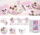 Baby Minnie Mouse Party Supplies Tableware Birthday Decoration