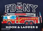 Kapuzensweat navy, FDNY Ladder Truck 8 - Ghost Busters, farbig