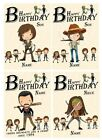 PERSONALISED WALKING DEAD INSPIRED BIRTHDAY CARD - 7 DESIGNS