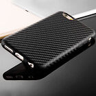 For iPhone 6s 7 Plus Case Carbon Fiber Rugged Rubber Bumper Shockproof Fit Cover