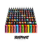 Radiant Tattoo Ink - Official Distributor - All Colours - 1oz, 1/2oz