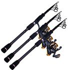 Unique Superhard Carbon Fiber Telescopic Fishing Rods Sea Light Fishing Poles
