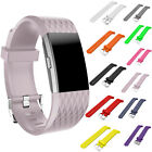 Multi Color Soft Replacement Silicone Wrist Band for Fitbit Charge 2 Watch Strap