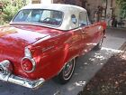 1955+Ford+Thunderbird+red+and+white+Ford+thunderbird+1955