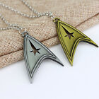 Star Trek Sliver Bronze Stainless Metal Chain Cosplay Decoration Necklace on eBay