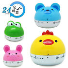 Kitchen Mechanical Alarm Clock Set Time Reminders Countdown Cooking Tools
