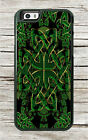 CELTIC GREEN SYMBOL CASE FOR iPHONE 6 or 6 PLUS -skj8X
