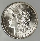 $1 1891-CC CHOICE BU Morgan SIilver Dollar, Rare Date, Bright-n-Lustrous