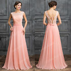 Long Evening Formal Party Bridesmaid Wedding Ball Gown Cocktail Maxi Dress