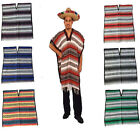 Mexican Blanket Poncho Pancho from Mexico