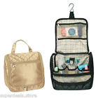 Ladies Travel Cosmetic Personal Care Satin Toiletry Case - A2674