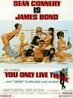 "Framed Classic vinatge movie poster ""James Bond You Only Live Twice"" 30% off £59.99 GBP"