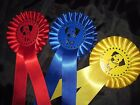 1 Tier - 1st to 3rd Dog Head / Canine rosettes