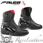 FALCO AXIS 2.1 BLACK SHORT CALF LENGTH WATERPROOF MOTORCYCLE BIKE TOURING BOOTS