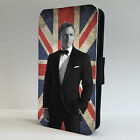 007 James Bond Daniel Craig Brit LEATHER FLIP PHONE CASE COVER IPHONE £8.95 GBP